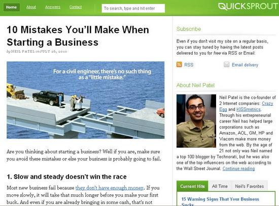internet entrepreneur blog