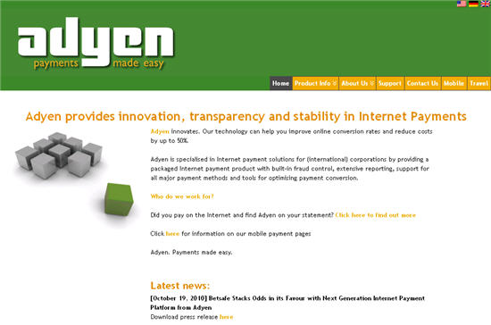 adyen client management foundation adresse
