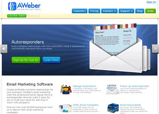 Founder and CEO of AWeber Communications