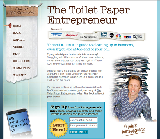 Toilet Paper Entrepreneur