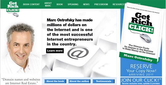 Marc Ostrofsky - Get Rich Click