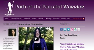 Edel O'Mahony, Path of the Peaceful Warrior - Expert in Energetic Communications
