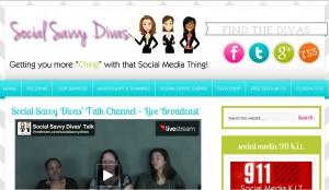 Social Savvy Divas - Sasha Rodriguez, LaKeesha Morris, Nicole Wynne