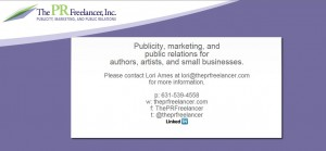 Lori Ames, The PRFreelancer Inc - President & Founder