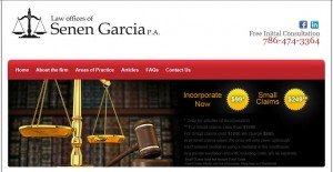 Senen Garcia, Law Offices of Senen Garcia, P.A. - Attorney