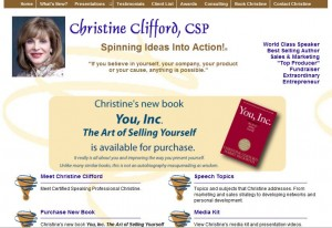 Christine Clifford, CSP, Christine Clifford Enterprises - CEO/President