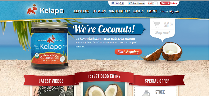 Kelapo Extra Virgin Coconut Oil - Kelapo Coconut Oil on Dr. Ward Bond's Think Natural