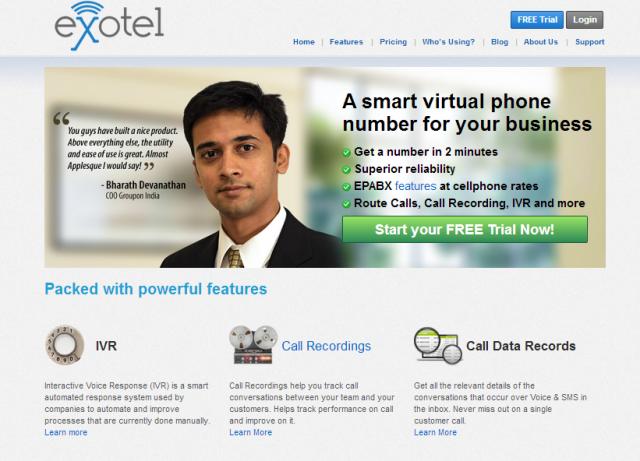Vijay Sharma, Marketing Head - Exotel